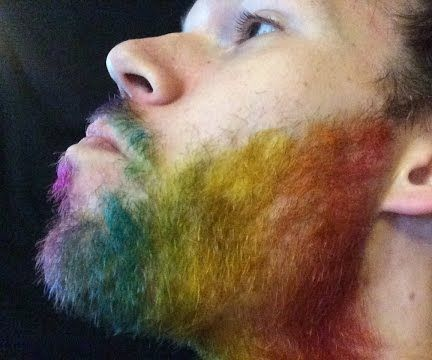 color splash mix Colored Beard Styles 2018