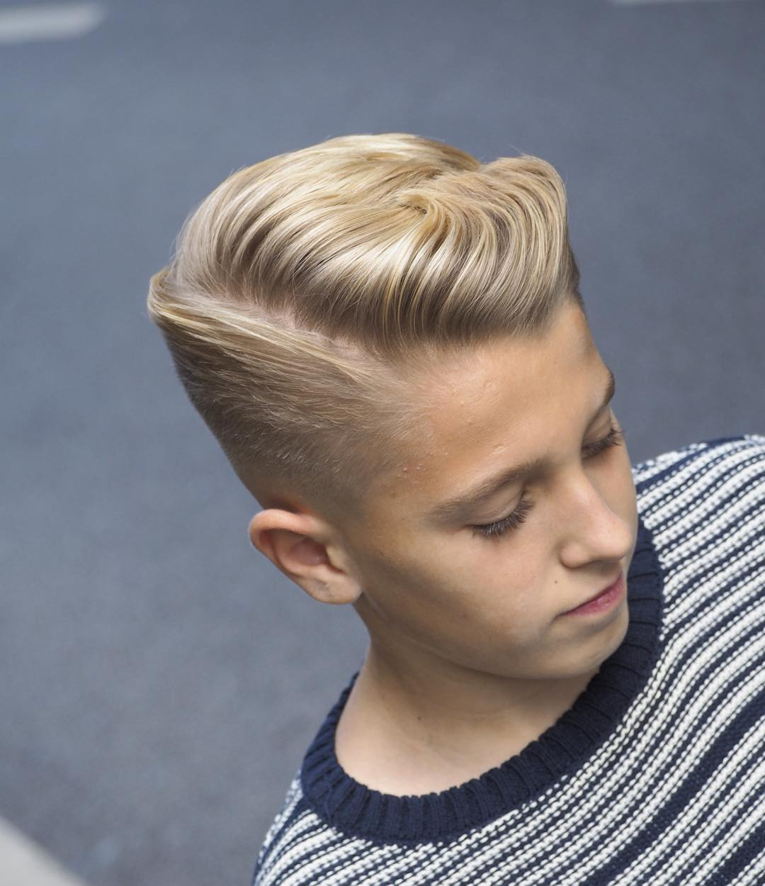 alan_beak side part fade best hairstyle for men the gentleman haircut