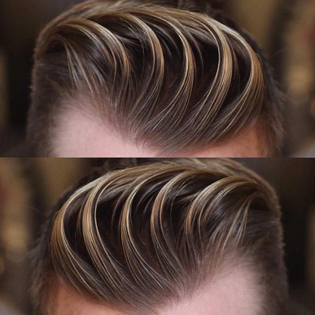 barber.josh.o.p pretty textured design cool haircuts for mens with thick hair
