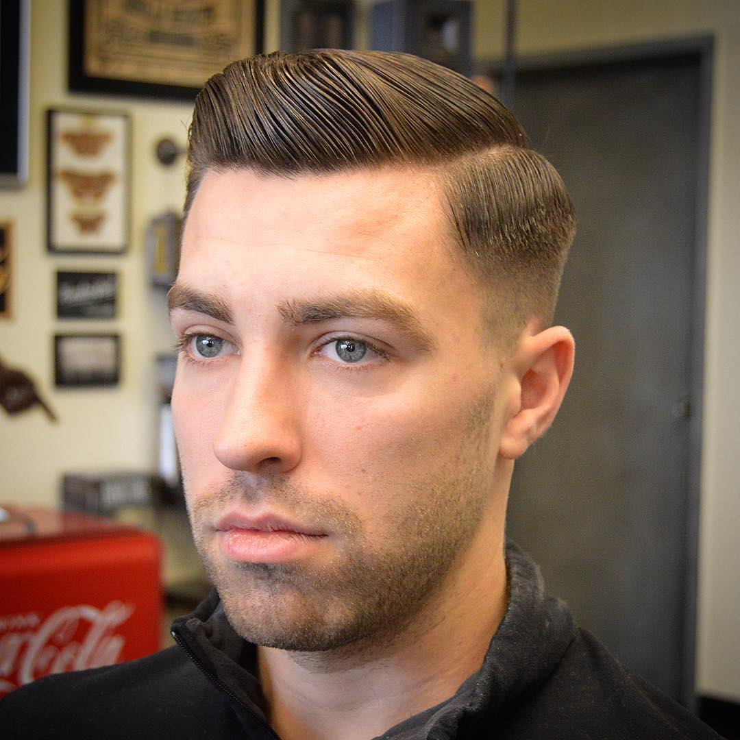 Beautiful Barbergreg Short Pompadour Best Hairstyle For Men The Gentleman Haircut