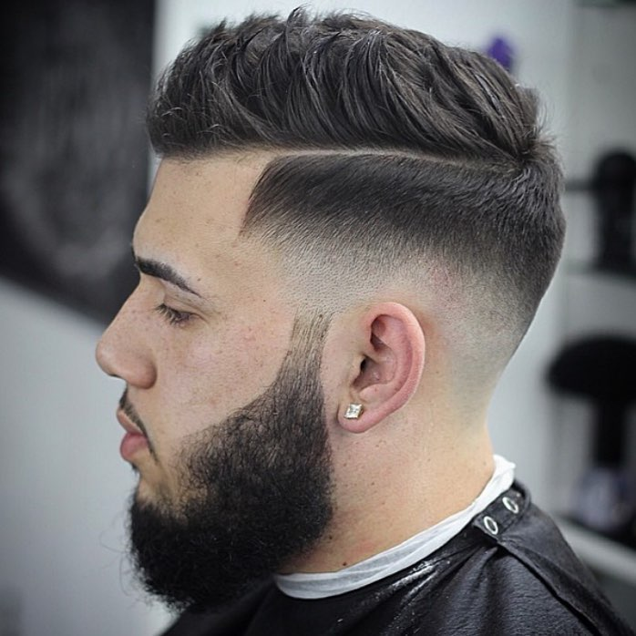 bonezdagoat pomp with spikes best hairstyle for men the gentleman haircut