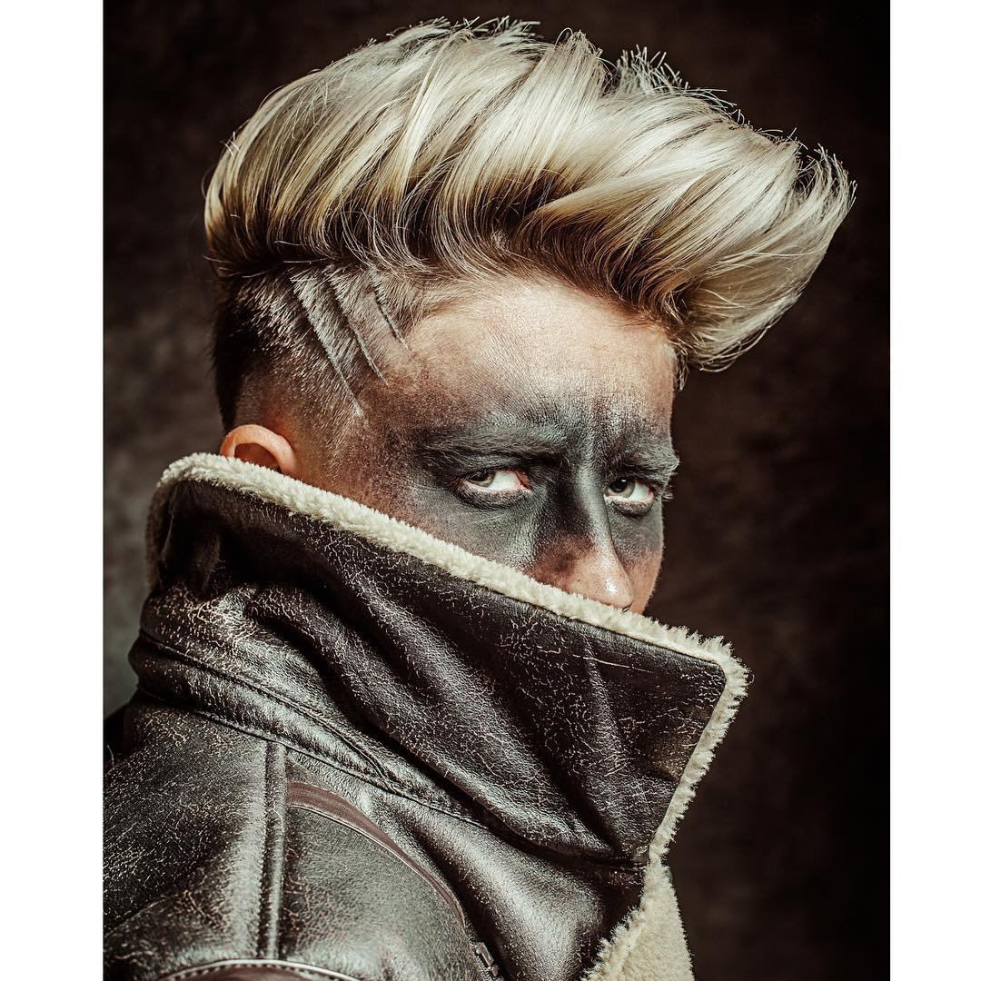 braidbarbers blong spiky textured latest mens hairstyles 2018