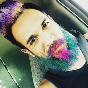 Latest Colored Beard Styles 2018