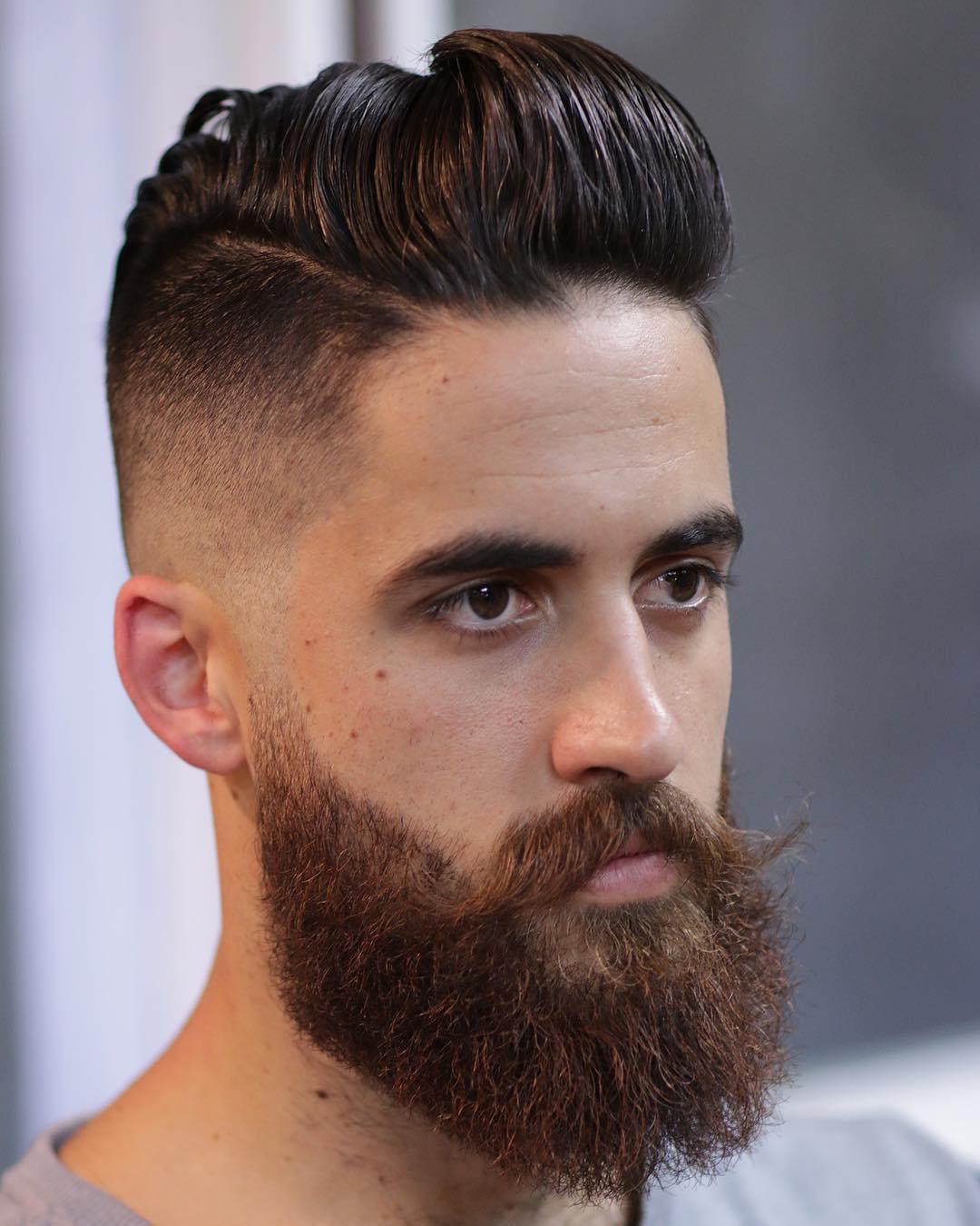 cutsbycameron beard style mustache style latest mens hairstyles 2018