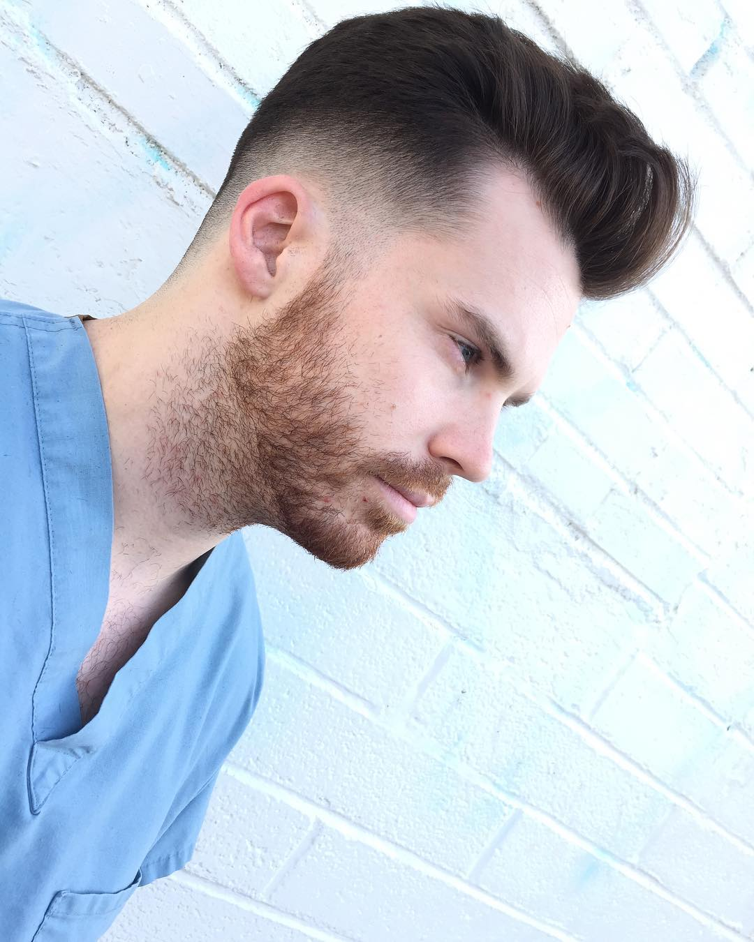 groovyhair low fade pomp mens haircuts