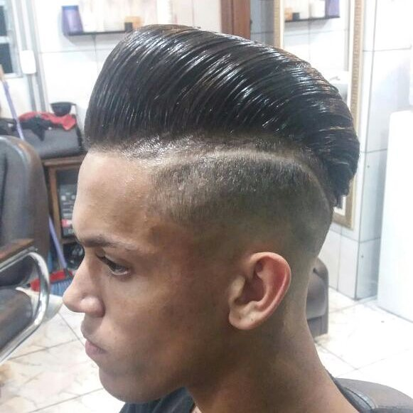 jr.barbershop pompadour haircuts fade haircuts medium length haircuts 2018