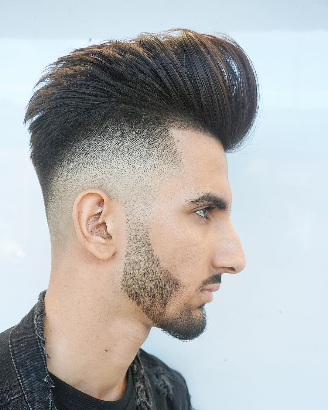 Amazing Menspiresalon Drop Fade Tall Pompadour Long Hairstyles For Men 2018