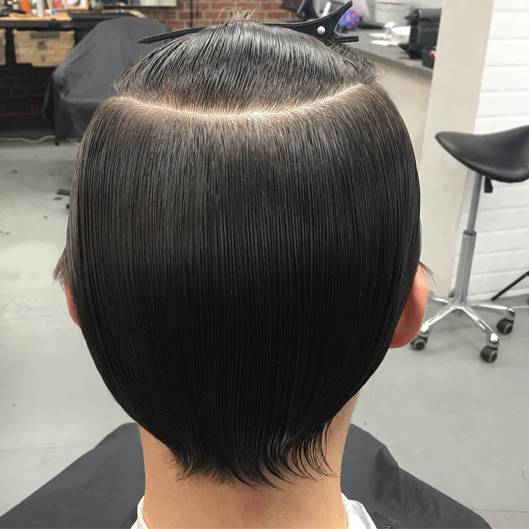 mokumbarbers how to get permanent straight hair long hairstyles for men 2018