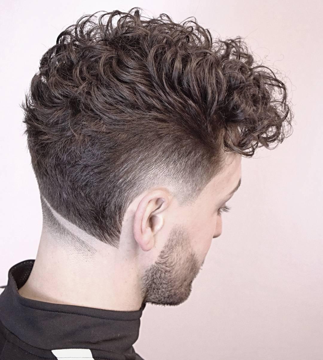 Latest 2018 Popular Neckline Hair Design Men S Hairstyles
