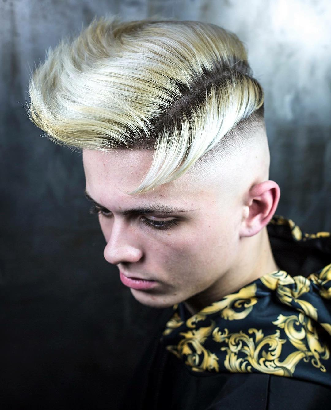 r.braid quiff hairstyle side part haircuts 2018