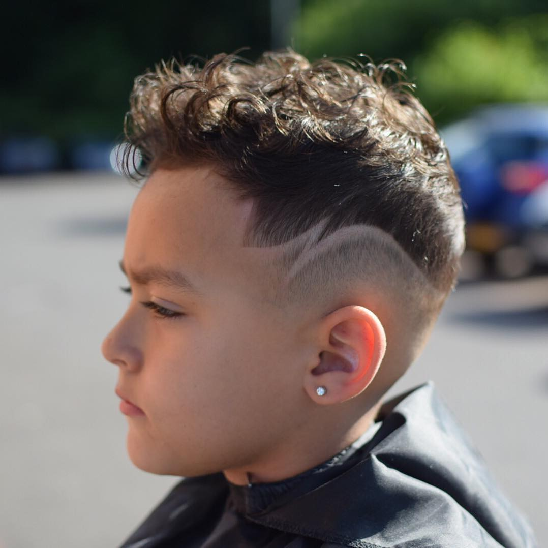 raggos_barbering high fade design curly hair boys fade haircuts