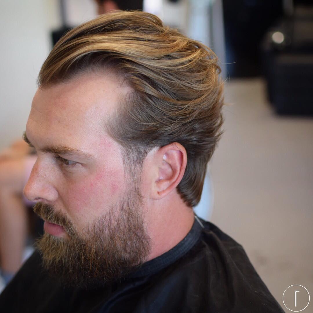 raggos_barbering sweep back haircuts medium length haircuts 2018