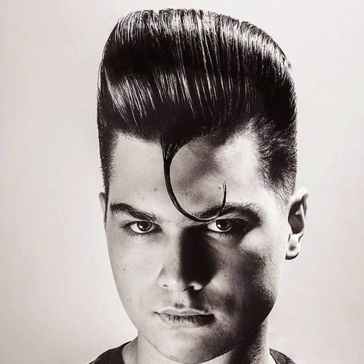 reuzel 90's style pompadour best hairstyle for men the gentleman haircut