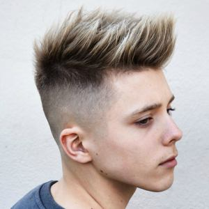 teen boy haircut spiky fade latest mens hair styles 2018 menshairstyleswag.com