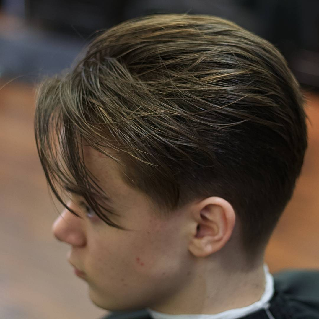 crowbarber Mens Medium Length Hairstyles long taper hair