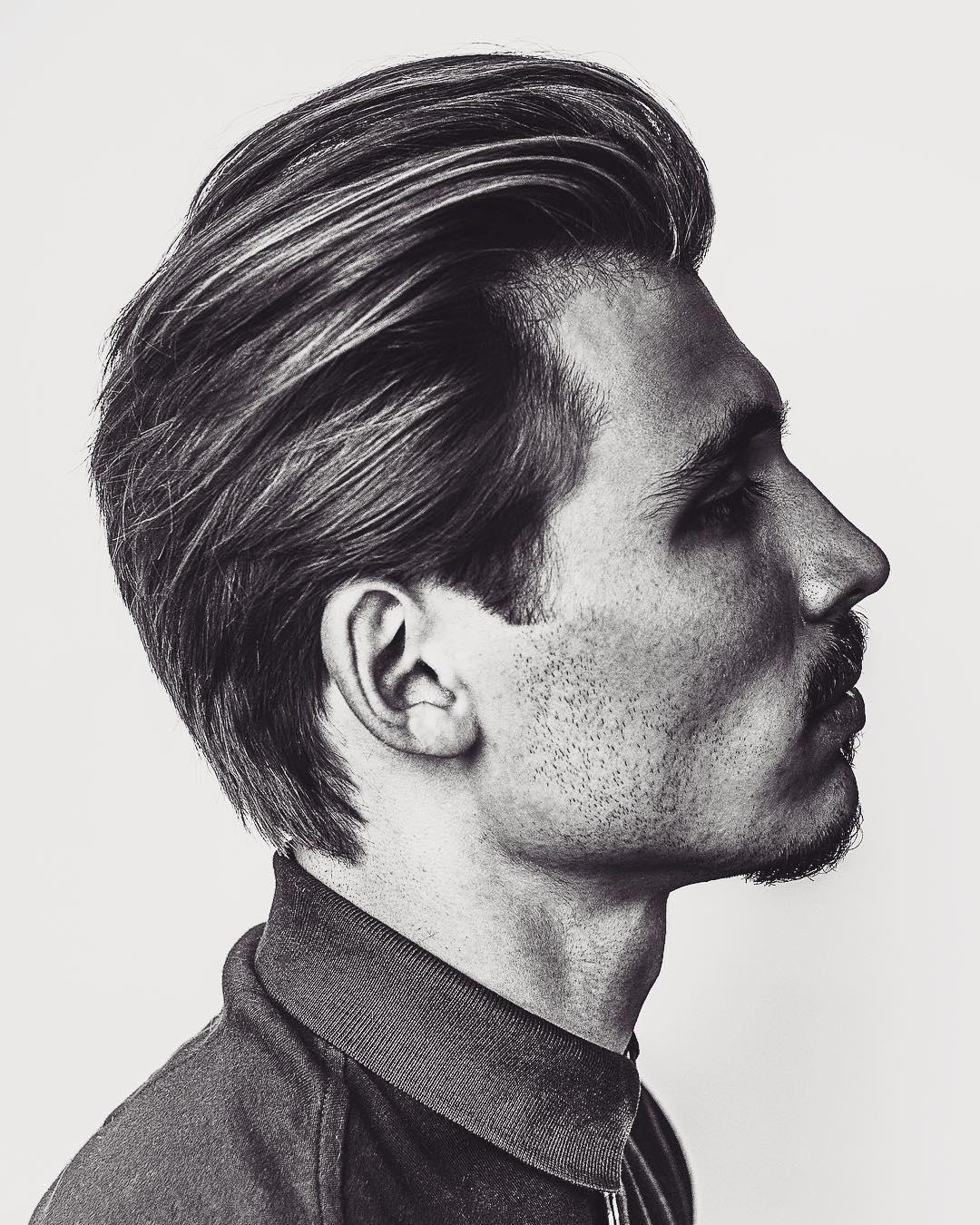 Latest Men's Medium Length Hairstyle 2018