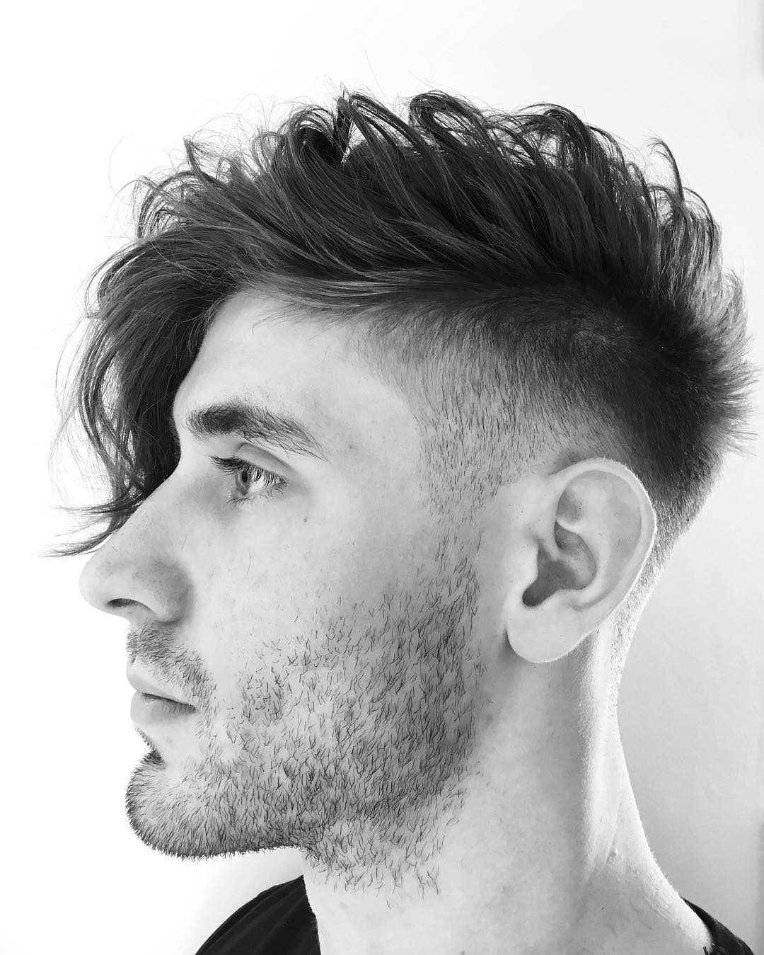 barberdeano cool fade haircut men latest hairstyle fade cut