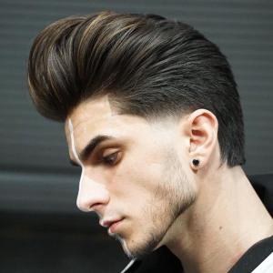 joshlamonaca pompadour haircut 2018