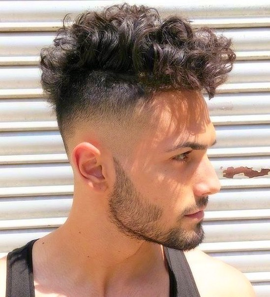 menscurlyhair curly pompadour latest pompadour haircut