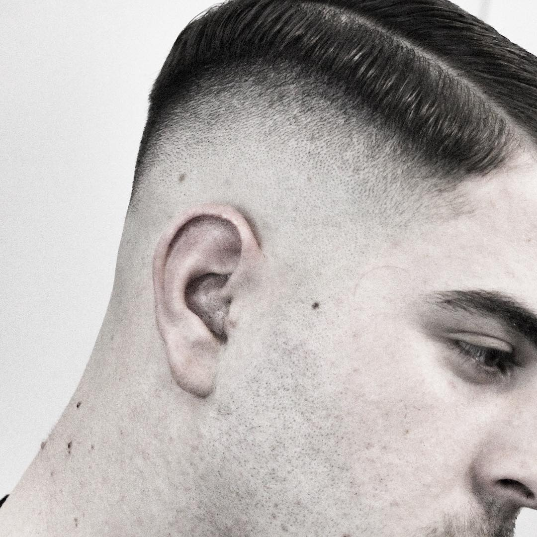 rio_black_rose high fade haircuts bald fade haircut