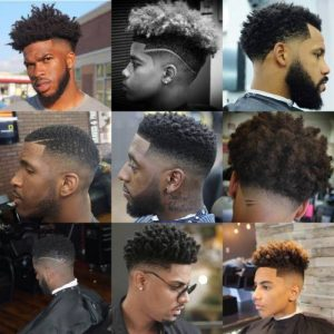 15 BLACK MEN FADES