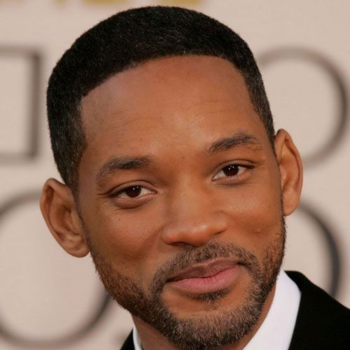 black men fades buzz cut will smith hairstyle
