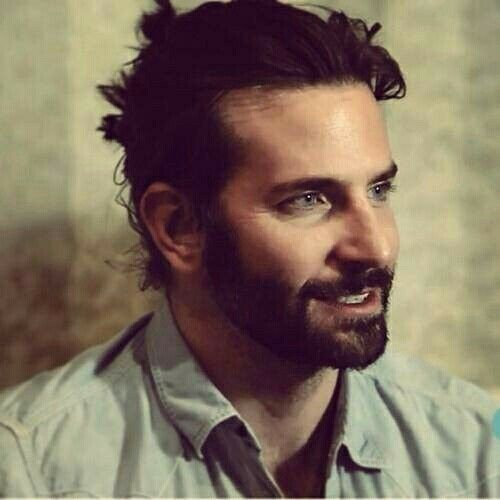 bradley cooper haircut medium length haircut with beard
