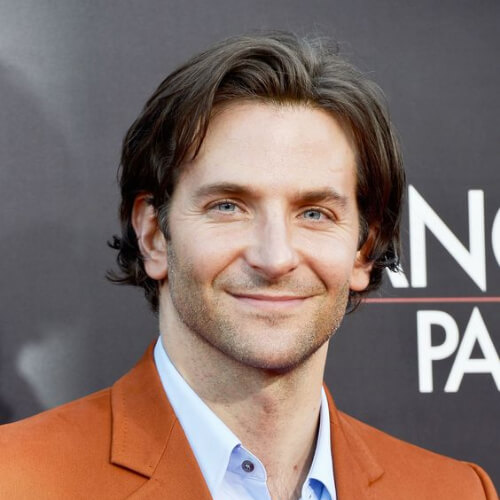 bradley cooper haircut pretty long hairstyle