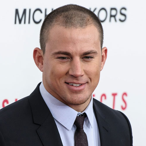 channing tatum haircut buzz hair
