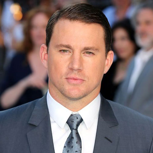 channing tatum haircut comb shaved face