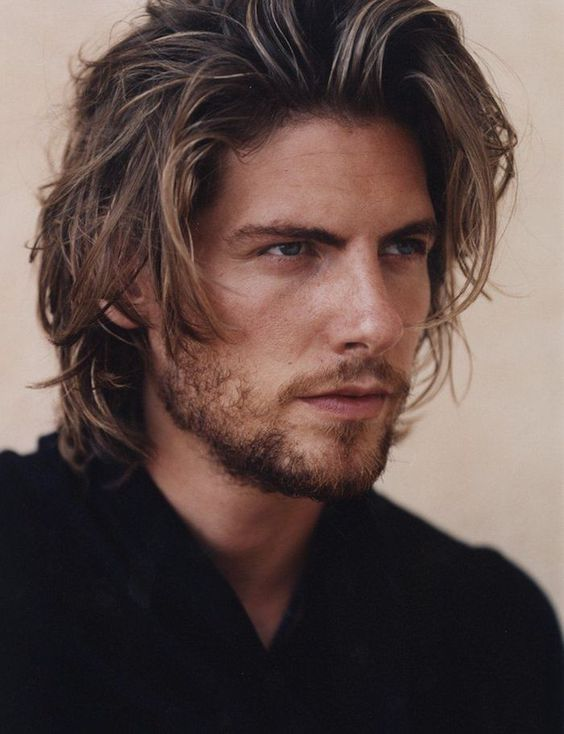 cute hairstyles for guys pretty long layered hairstyle