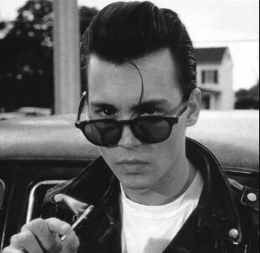 greaser rockabilly short pomp hairstyle