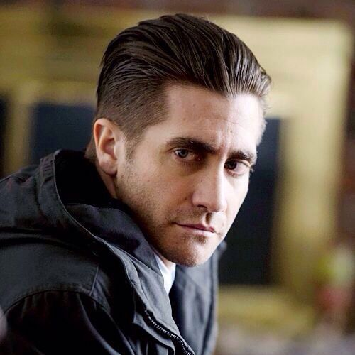 jake gyllenhaal haircut slicked back hair celebrity hairstyles for men
