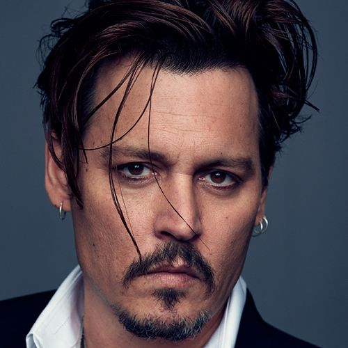 johnny depp haircut long hair celebirty hairstyles for men