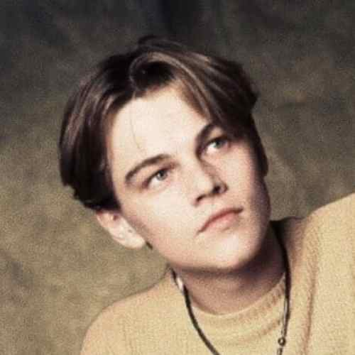 leonardo dicaprio haircut young hairstyle