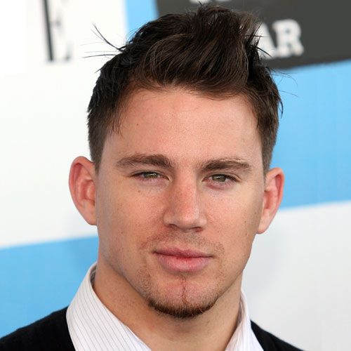 messy skipy hair fade channing tatum haircut