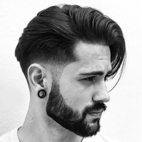 modern rockabilly hairstyles for men with long hair