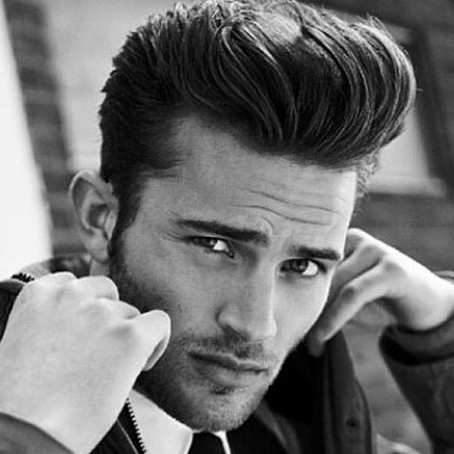rockabilly hairstyles for men pompadour and textured