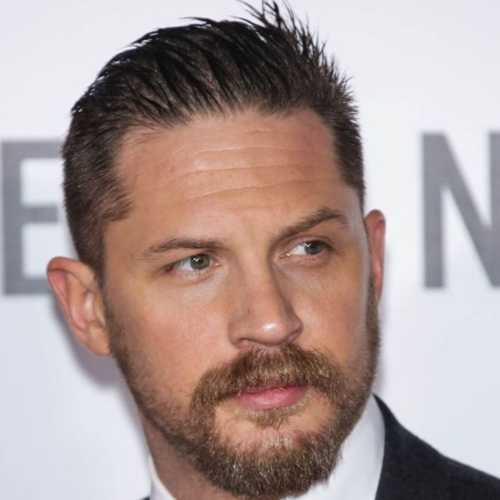 tom hardy haircut short haircut slicked back
