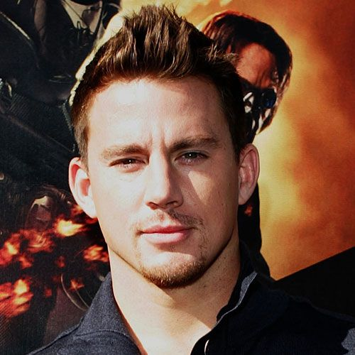 upper short spikes haircut channing tatum haircut