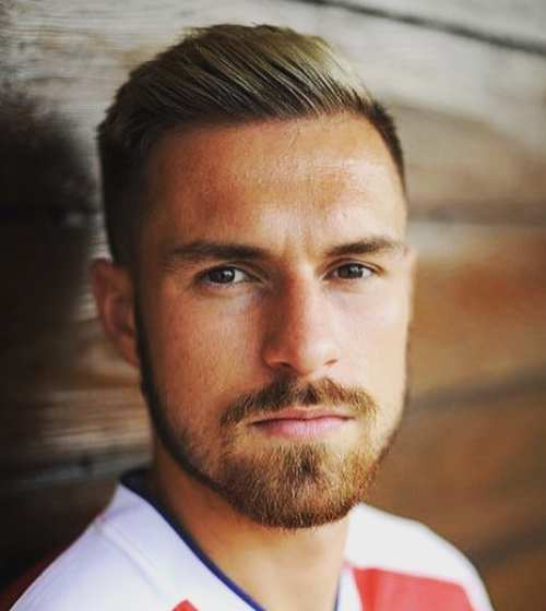 aaron ramsey new haircut