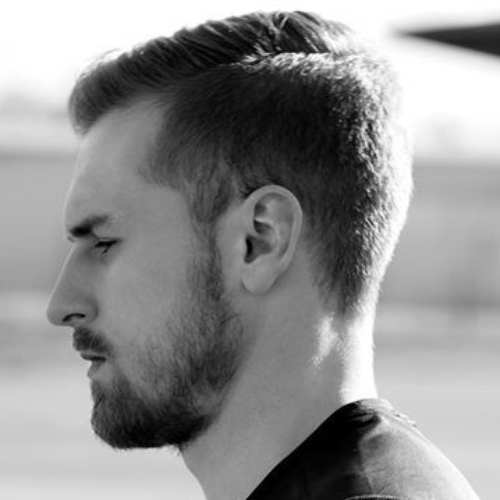 aaron ramsey short hair
