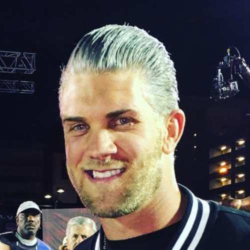 bryce harper hair color white hairstyle