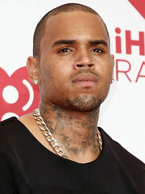 chris brown new hairstyle