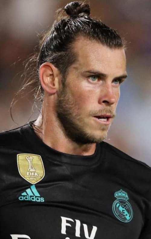 football player hairstyle gareth bale