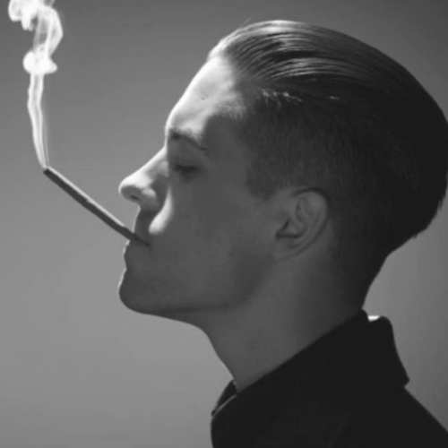 g eazy haircut side slicked back hairstyle