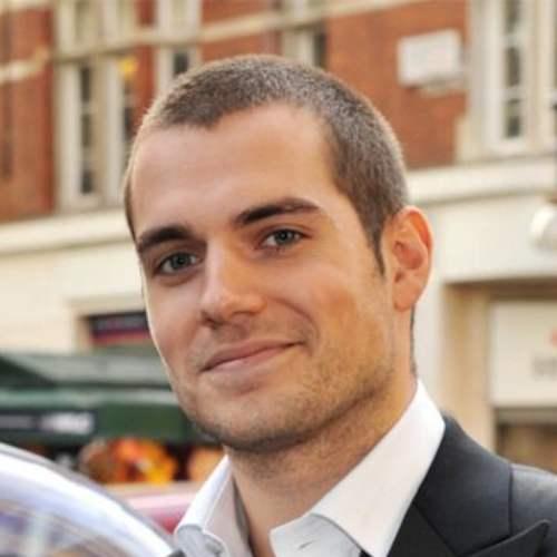 henry cavill buzz cut bald style