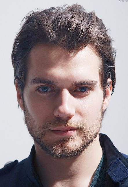 henry cavill long hair and beard