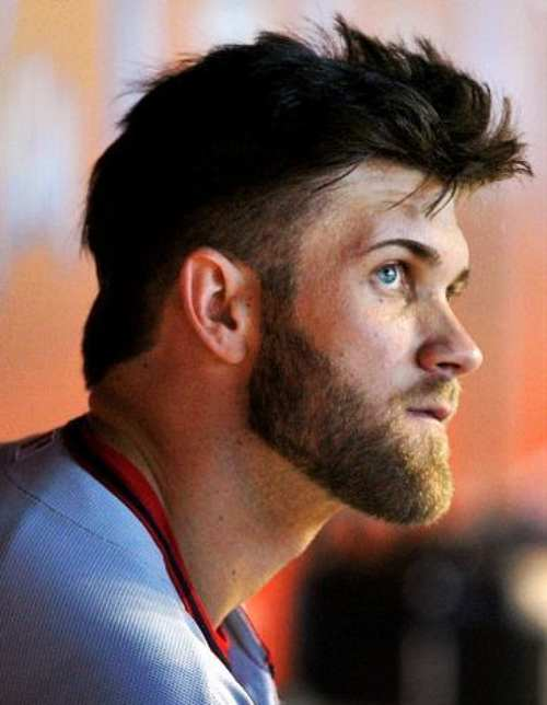 how to do bryce harper haircut
