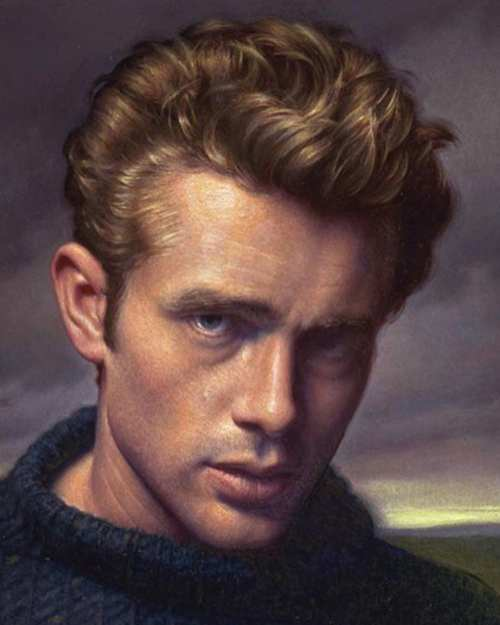 how to get james dean hairstyle